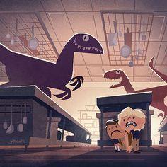 Jurassic Park @Caitlin Burton Burton Stryker
