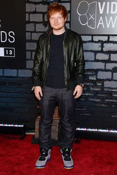 The Best Looks from the 2013 MTV Video Music Awards: Ed Sheeran