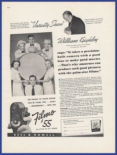 1961 print ad kodak brownie 8 movie camera fisherman eat shore vintage 1937 bell howell filmo movie camera 8mm william keighley print ad malvernweather Images