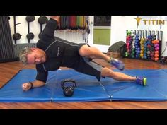 Try this killer core workout with Titin Weighted Compression shirt! AWESOME! #fitfluential #titintech