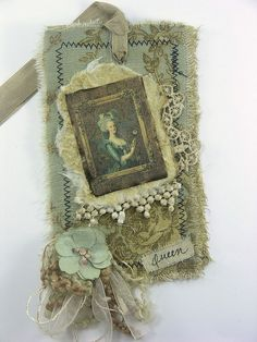 Shabby Cottage Studio - fabric tag