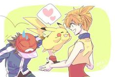 Beautiful ♡ Pokeshipping ^.^ ♡ I give good credit to whoever made this