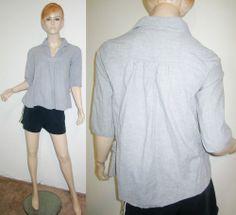 COMPTOIR DES COTONNIERS 100% Soft Cotton Swing 3/4 Sleeve Buckle Sides Top S...http://stores.shop.ebay.com/vintagefluxed