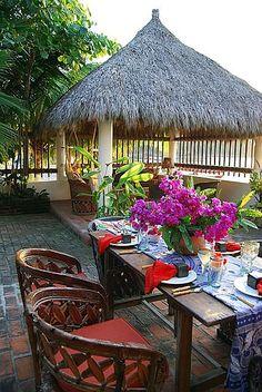 Playa Blanca Dos, 3-bedroom vacation rental on the beach in La Manzanilla, Mexico