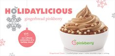 Pinkberry Frozen Yogurt. They have a book of flavor ingredients behind the counter.  Best of all, it's on campus!