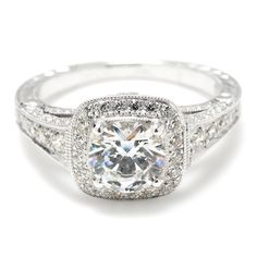 Art Deco Diamond Engagement Rings