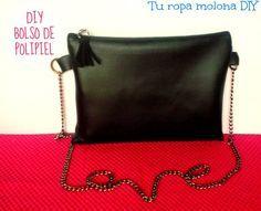 DIY:  haz tu propio bolso de polipiel, el paso a paso es muy fácil...