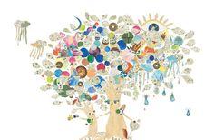 おかあさんのHahaの木と、こどものBokuの木