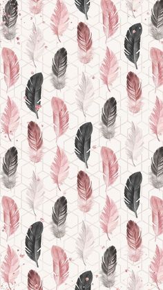 Are you looking for ideas for wallpaper?Browse around this site for perfect wallpaper inspiration. These cool background images will brighten your day. Feather Wallpaper, Pink Wallpaper, Flower Wallpaper, Screen Wallpaper, Cool Wallpaper, Mobile Wallpaper, Pattern Wallpaper, Wallpaper Ideas, Bedroom Wallpaper