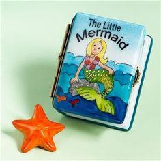 Limoges Little Mermaid Book Box The Cottage Shop