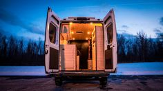 Tiny Home/Stealth Camper/Conversion Van Built In 180 Hours - YouTube