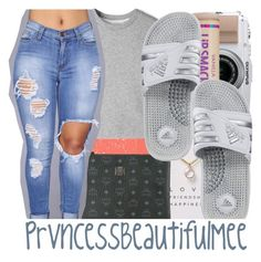 """""""📳"""" by prvncessbeautifulmee ❤ liked on Polyvore featuring Dogeared, Casetify, MCM, 3.1 Phillip Lim and adidas"""