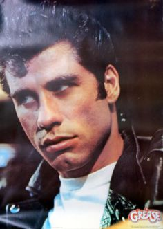 For Sale - John Travolta Grease - Portrait USA  poster - See this and 250,000 other rare & vintage vinyl records, singles, LPs & CDs at http://eil.com