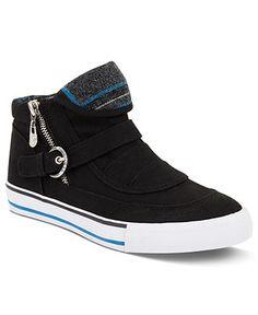 G by GUESS Women's Shoes, Omalia Hi Top Sneakers  $59 @ Macys