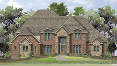 Home Plan HOMEPW76119 - 5884 Square Foot, 4 Bedroom 3 Bathroom European Home with 3 Garage Bays | Homeplans.com