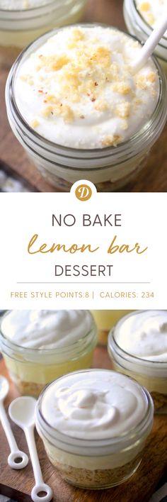 No Bake Lemon Bar Dessert