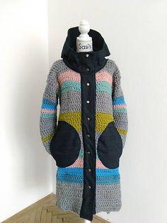 sasis / 2017 / Long grey Alpacas, Grey, Sweaters, Jackets, Fashion, Gray, Down Jackets, Moda, Fashion Styles