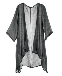 Go With the Flow Gauzy Drape Cardigan Drape Cardigan, Trendy Tops, Cool Gifts, Duster Coat, Party Dress, Kimono Top, Classy, Clothes For Women, Unique