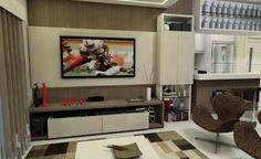 Sala TV - Apto Floripa