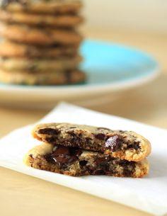 New York Times chocolate chunk cookies