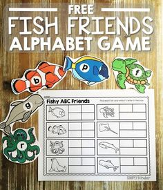 Fish Friends Alphabe