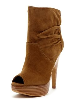 Hightimes Peep Toe Bootie on HauteLook