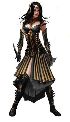 Tagged with art, drawings, fantasy, dungeons and dragons; DnD female clerics, rogues and rangers - inspirational Elf Characters, Dungeons And Dragons Characters, Fantasy Characters, Female Character Concept, Character Art, Fantasy Women, Fantasy Girl, Rogue Assassin, Elfa