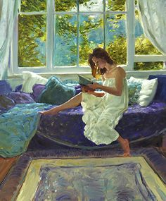L'ultimo capitolo di David Hettinger Olio ~ 24 in x 20 in