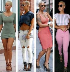 Amber Rose parents are from Cape Verde #TeamCapeVerdean #TeamFunana #Investing