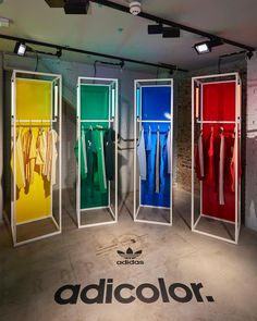 "ADIDAS ORIGINALS, Fouberts Place, London, UK, ""AdiColor"", creative by StudioXAG, pinned by Ton van der Veer"