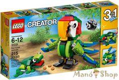 Lego Creator Őserdei Állatok 31031