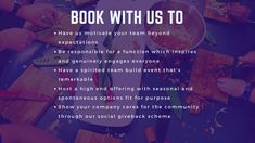 Why book your Corporate Gig with Us? Why Book, Team Events, Word Out, Motivate Yourself, Authors, No Response, Advertising, How To Get, Thoughts