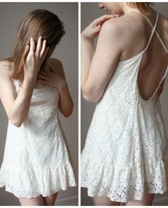 Nuisette Talula (S) | Mlle Frivole Backless, Boutique, Dresses, Fashion, Criss Cross, Lace, Vestidos, Moda, Fasion