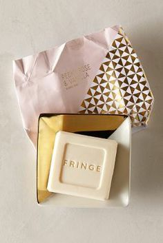 Fringe Studio Soap & Dish Set