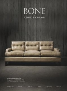 The first ad for our new Pablo sofa in Wallpaper*