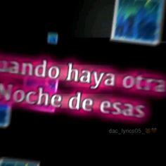 Cool Lyrics, Love Songs Lyrics, Music Lyrics, Song Lyric Quotes, Music Quotes, Happy Birthday Video, Spanish Songs, Song Suggestions, Better Music