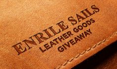 Enter our for Free and Win a Premium Up Cycled Luxury Sailing Goods worth over Leather Company, Sailing Outfit, A Team, Upcycle, Spain, Luxury, Products, Style, Upcycling