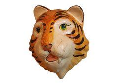#onsale: decorative tiger mask - #animaldecor