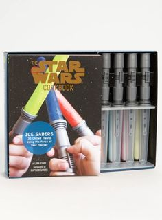 Star Wars Lightsaber Ice Pops and Cookbook  http://rstyle.me/n/jv5cvpdpe