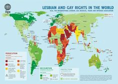 Kill the Bill Uganda: LGBT Rights World Map