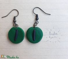 Kígyó szem fülbevaló (IndieLynx) - Meska.hu Handmade Jewellery, Drop Earrings, Jewelry, Jewellery Making, Handmade Jewelry, Jewerly, Jewelery, Drop Earring, Jewels