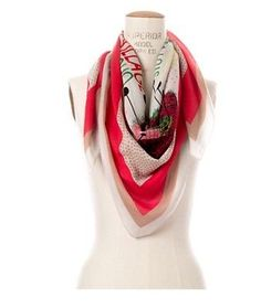 Madewell-1937-Manhattan-NYC-Map-Scarf-Limited-Edition-Modal-Cotton-New-York