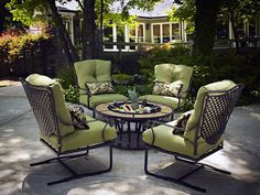 Style Your Yard With Patio Furniture #OutdoorFurniture #PatioFurniture #Yard #Backyard #YardDesign #PatioDesign