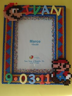 1000 images about cuadros on pinterest hama beads - Hama beads cuadros ...