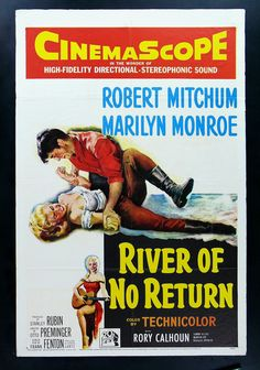 marilyn monroe movie posters | River of No Return Marilyn Monroe Movie Poster 1954 | eBay