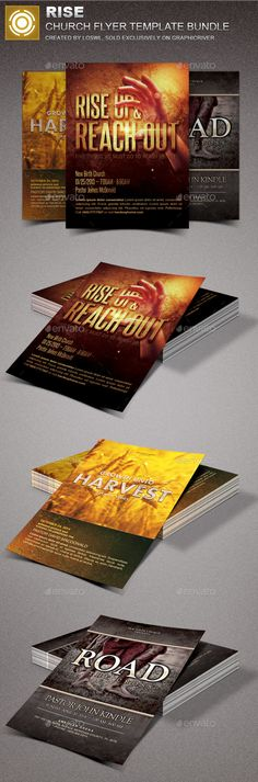 755 Best Church Marketing Flyer Templates images Booklet Design
