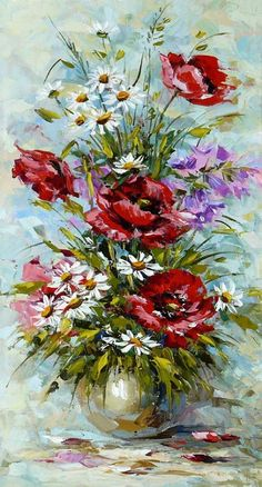 Bouquet with poppies Букет с маками