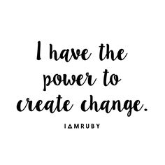 Say it with me... #affirmation