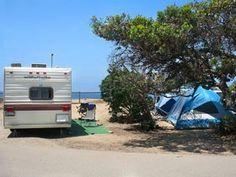 Camping at San Elijo State Beach