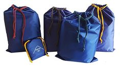 Set of 5 storage bags Flat bag pannier creates order in the backpack everest1953